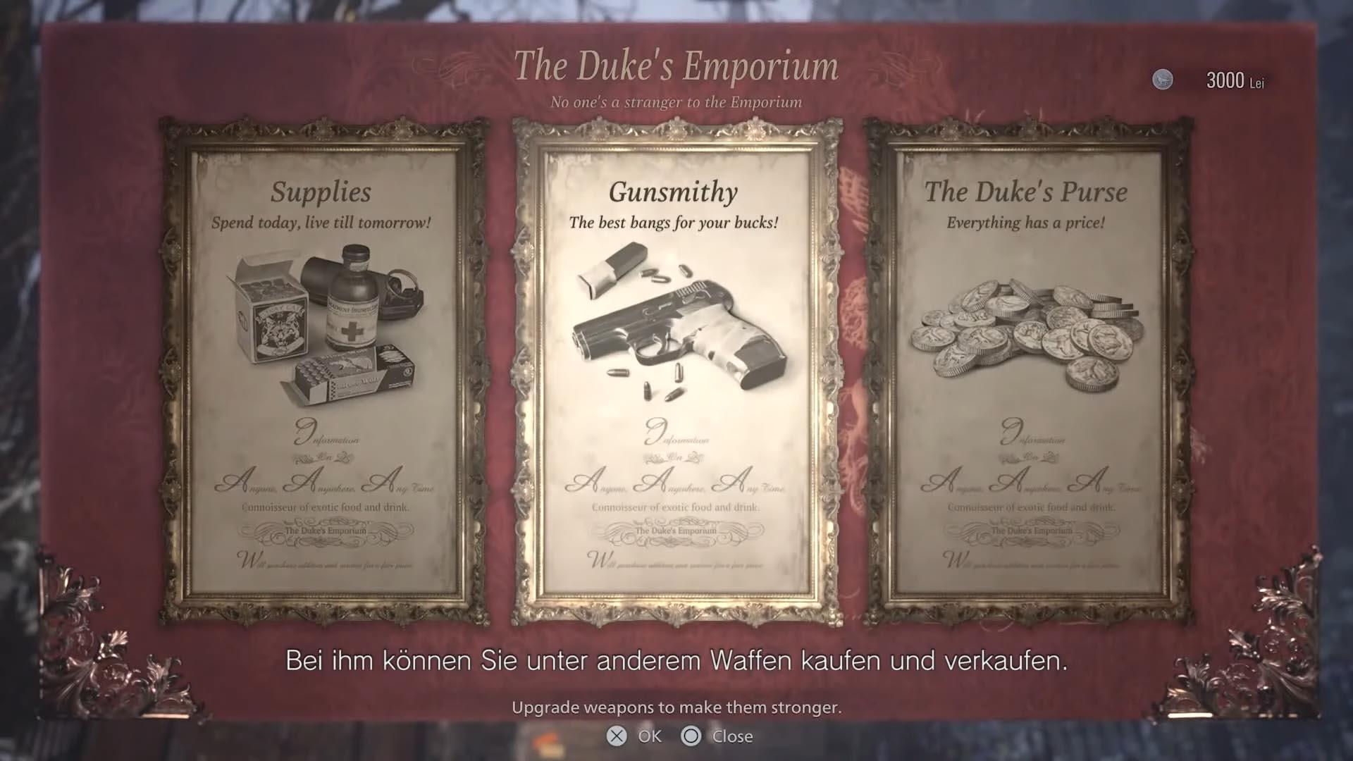 Händler - der Duke in Resident Evil 8