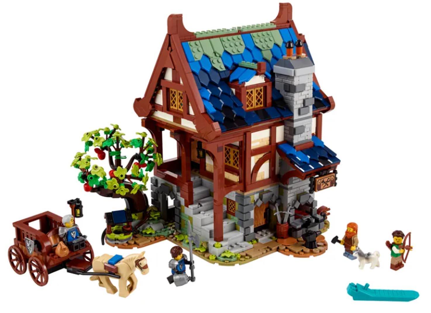 LEGO Mittelalterliche Schmiede
