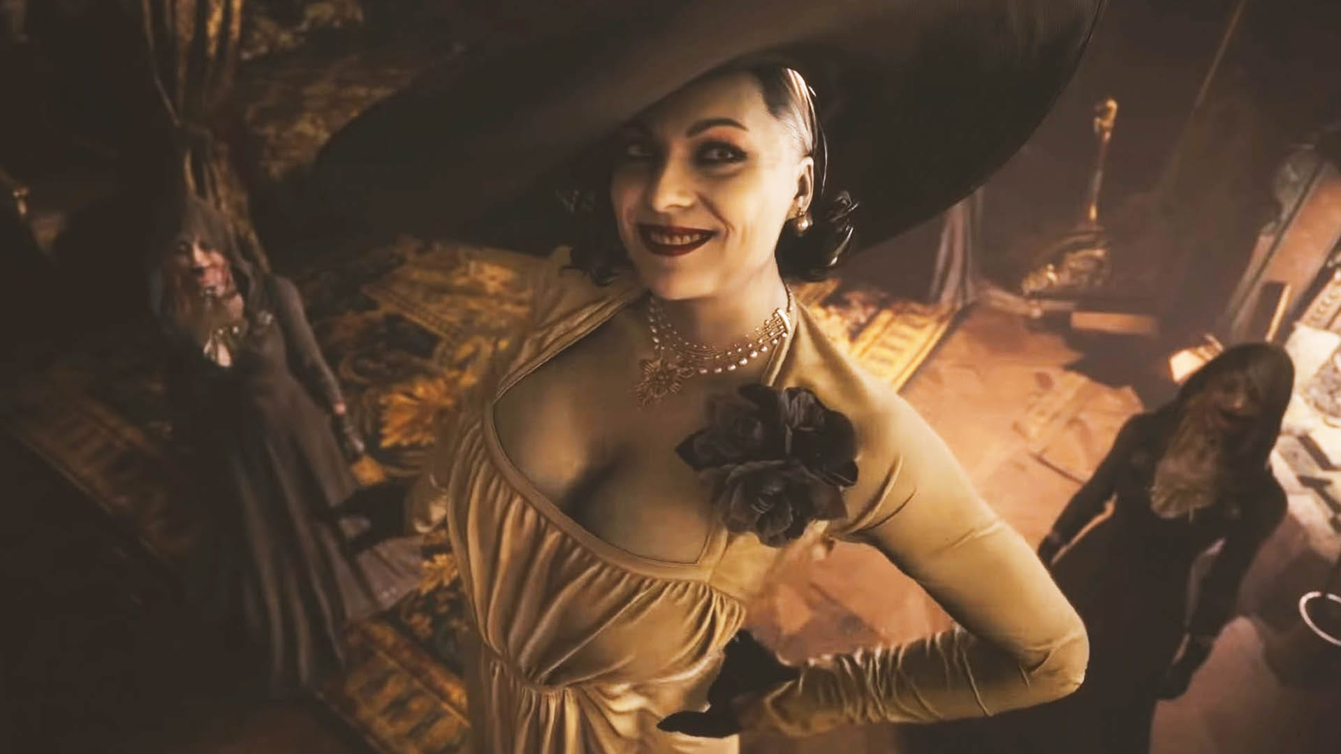 Resident Evil 8 - Wie groß ist Lady Dimitrescu? (Vampir)