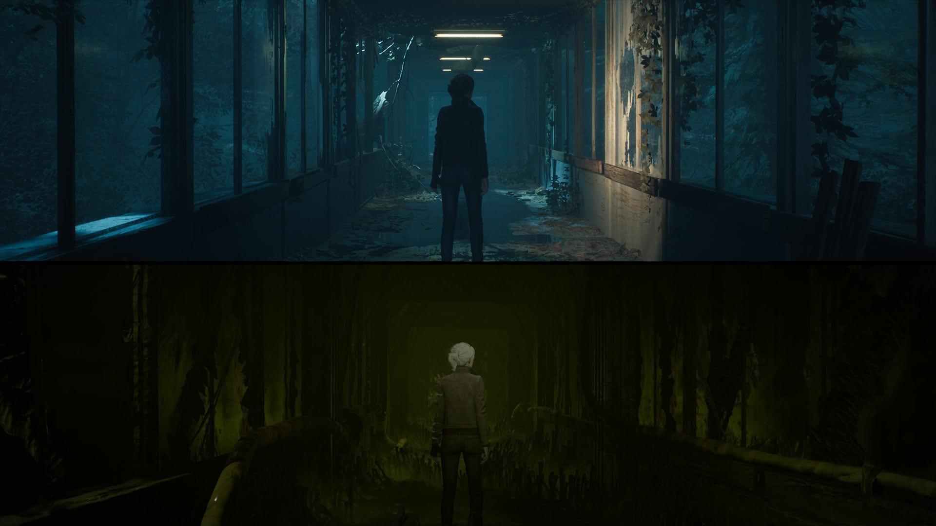 The Medium - Dual-Reality-Gameplay