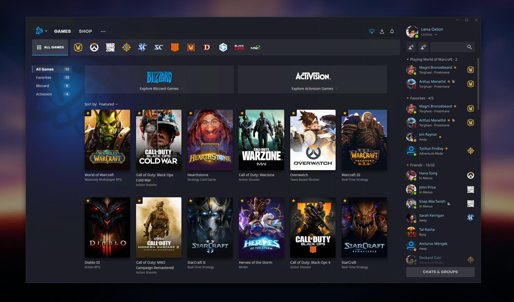 Neuer Blizzard-Launcher für Battlenet - was ist neu?
