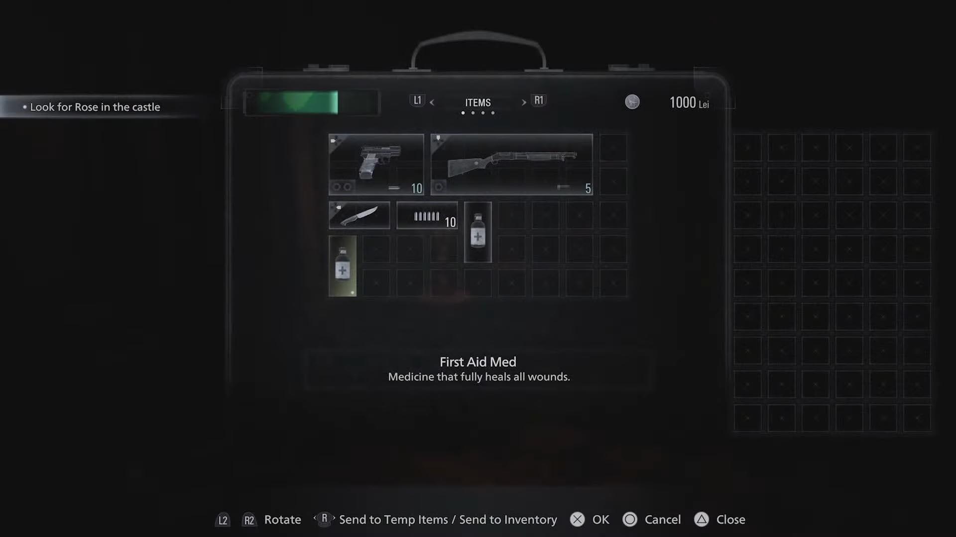 Resident Evil 8 - Neues Inventarsystem erinnert an RE4
