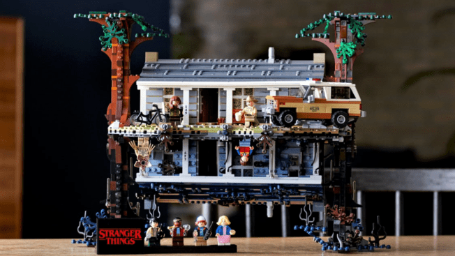 Stranger Things Die andere Seite LEGO