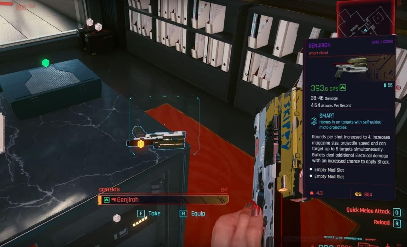 Cyberpunk 2077: Alle einzigartigen Waffen - Guide (Lösung)