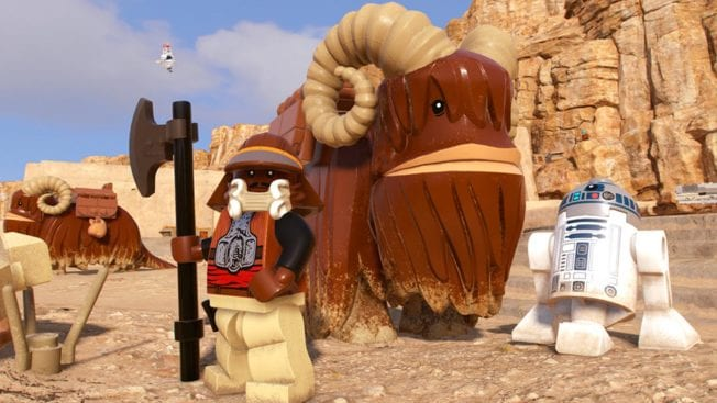 Star Wars LEGO - Die Skywalker Saga spielbare Charaktere