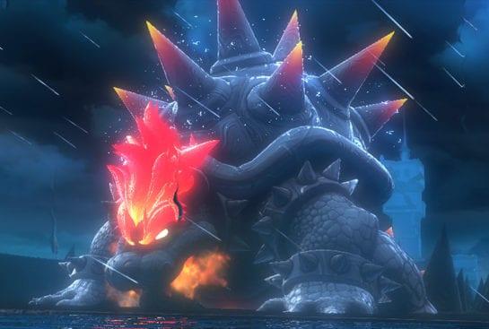 Super Mario 3D World Bowers Fury - Fury Bowser