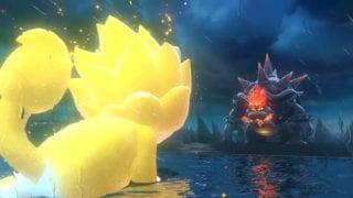 Super Mario 3D World Bowser's Fury - Mario als Super-Saiyajin