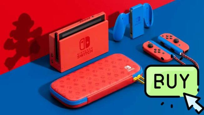 Super Mario Nintendo Switch Edition