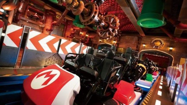 Super Nintendo World Eröffnung - Freizeitpark Achterbahn