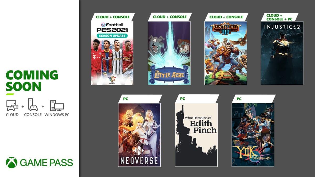 Xbox Game Pass Januar 2021 Spiele