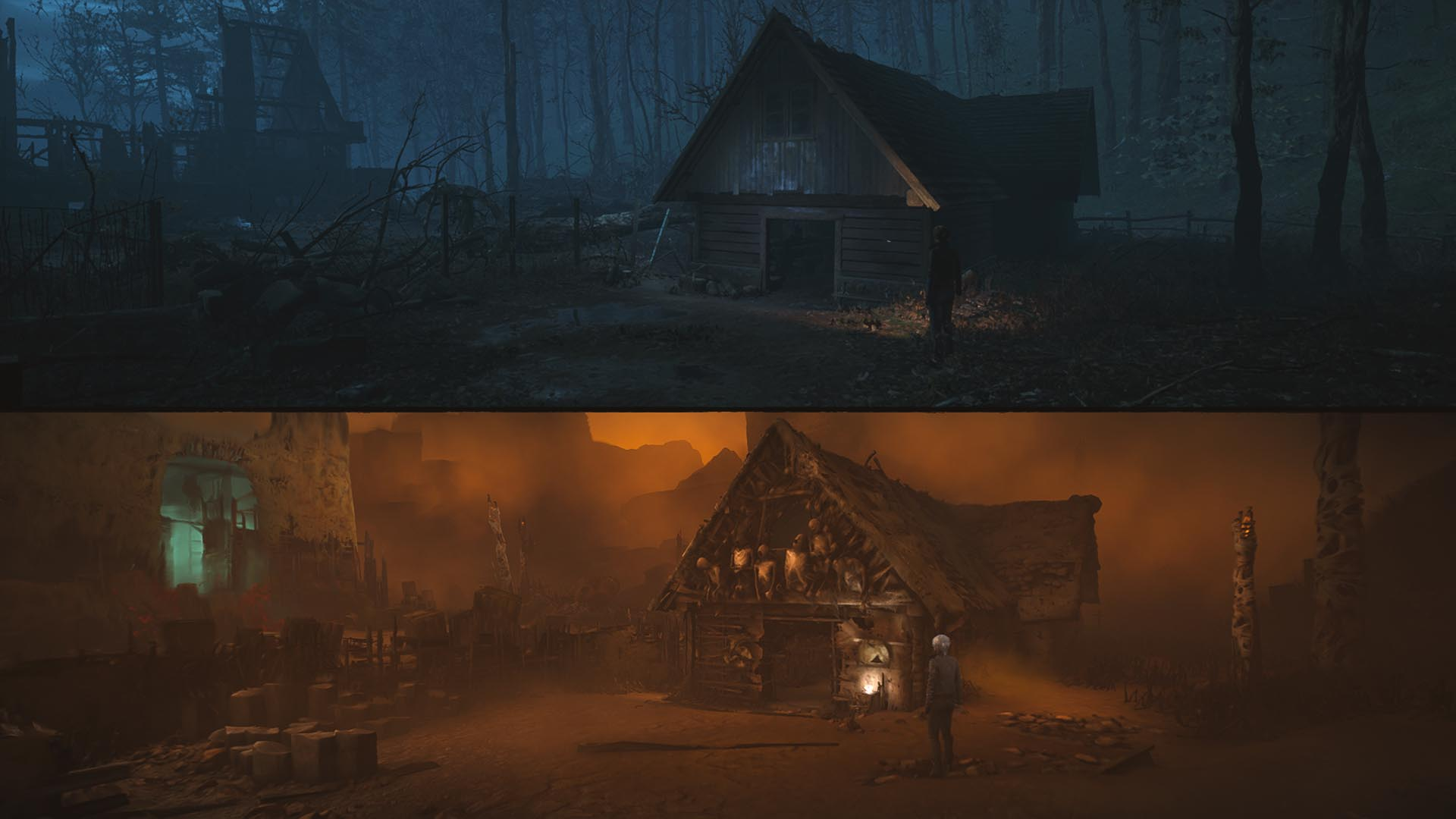 The Medium - Bild von der Werkstatt und Rotes Haus