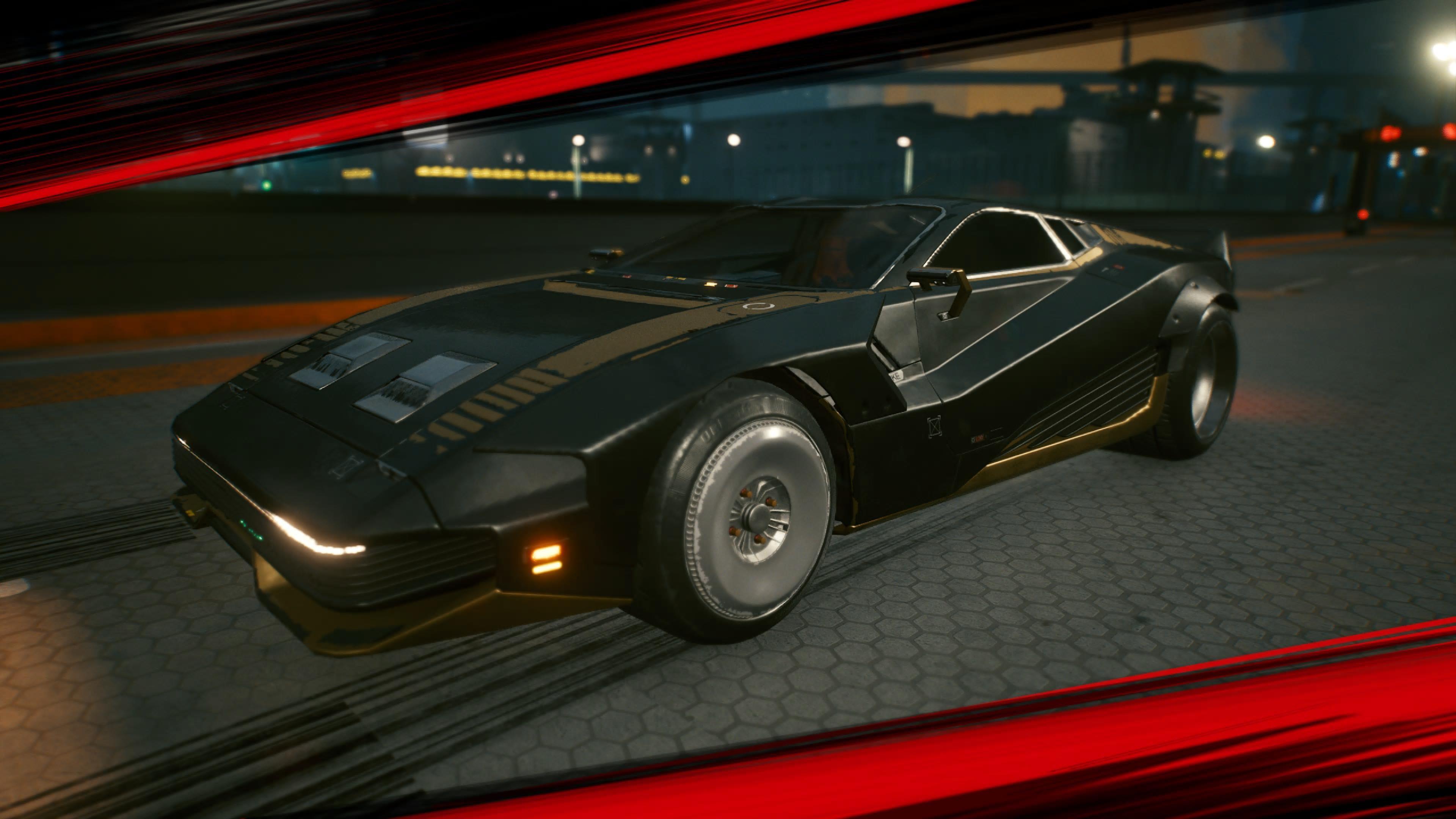 Vs Auto in Cyberpunk 2077 aus dem Trailer