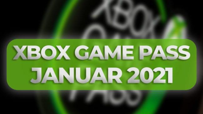 Xbox GamePass Januar 2021