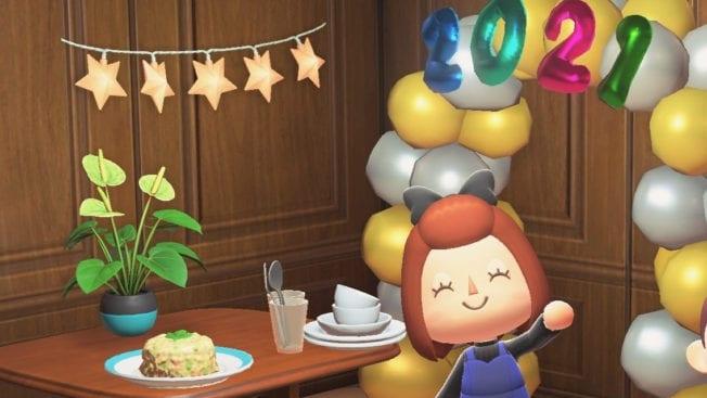 Animal Crossing New Horizons Neujahr Items