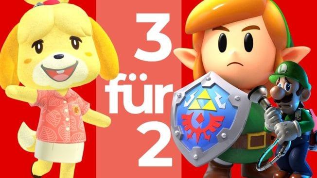 3-für-2-Aktion bei MediaMarkt mit Nintendo Switch-Games