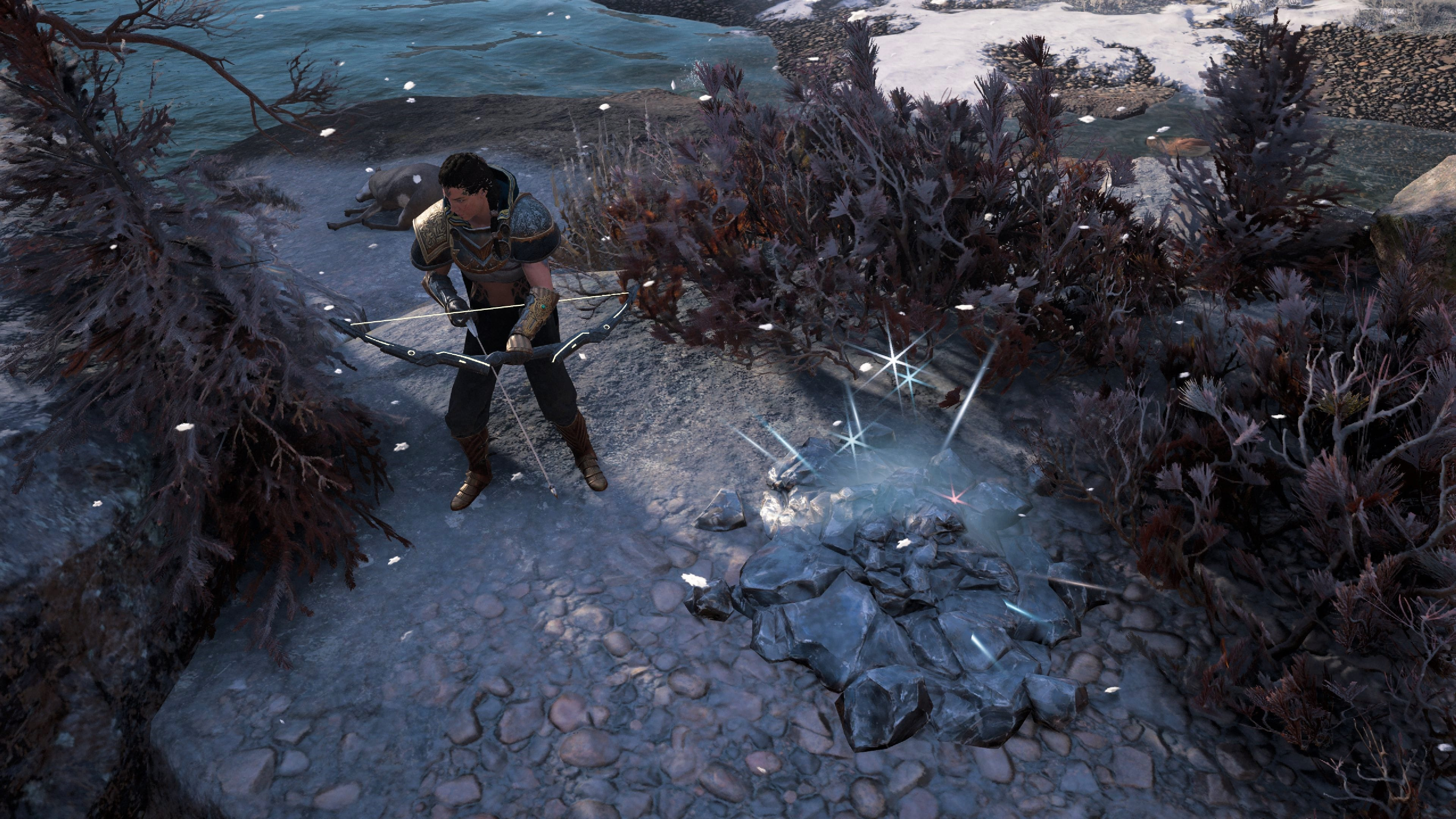 Assassin's Creed Valhalla Steinhaufen Bogen