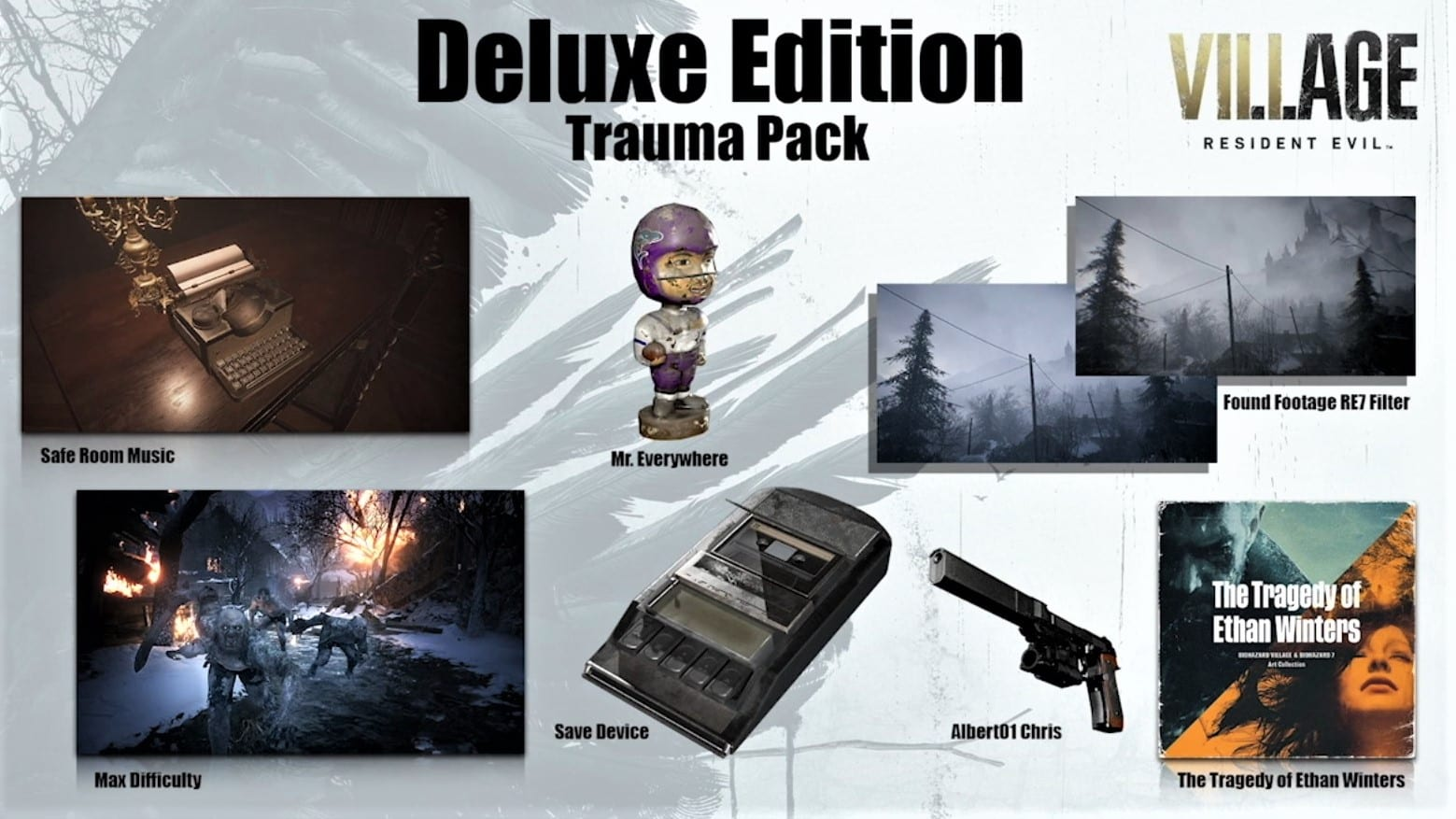 Resident Evil 8 Village Deluxe Edition Trauma Pack
