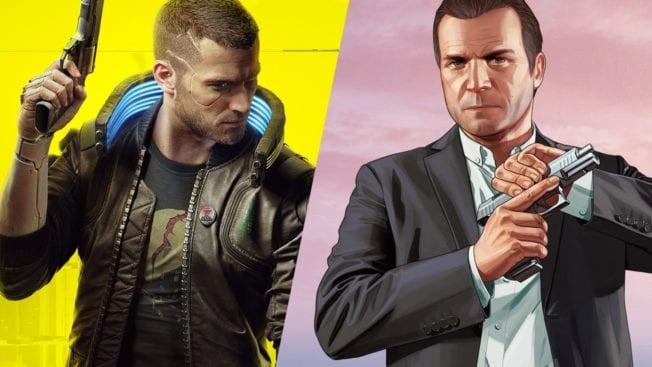 GTA 5 vs. Cyberpunk 2077