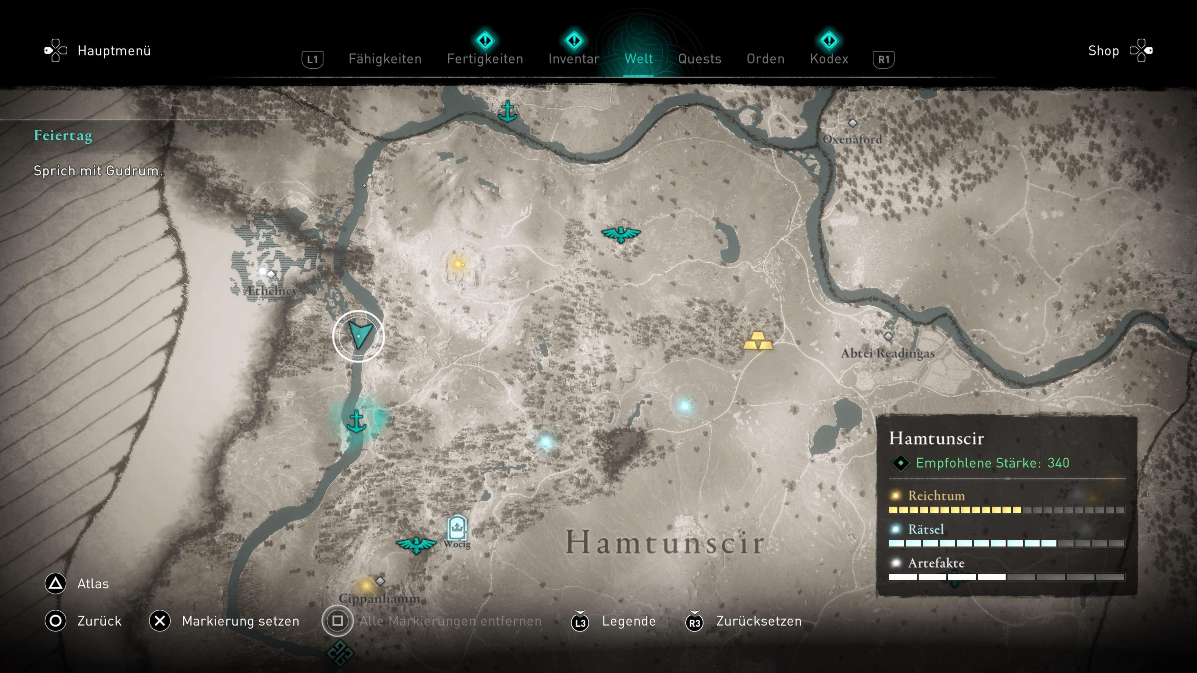 Assassin's Creed Valhalla Ubba Fundort