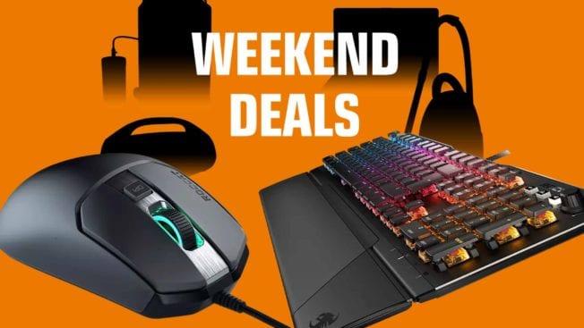 Saturn Weekend Deals Roccat Gaming Tastatur Maus