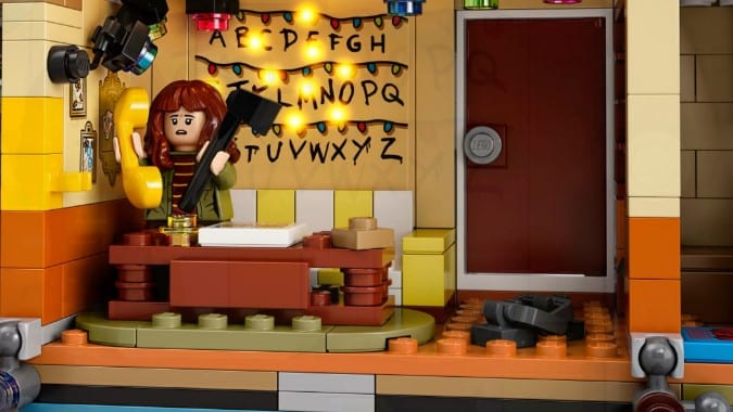 LEGO Stranger Things die andere Seite