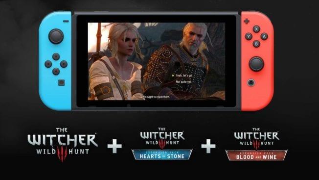 The Witcher 3 Nintendo Switch einzeln DLC