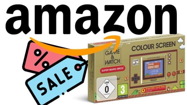Nintendo Game und Watch: Super Mario Bros Amazon Angebot
