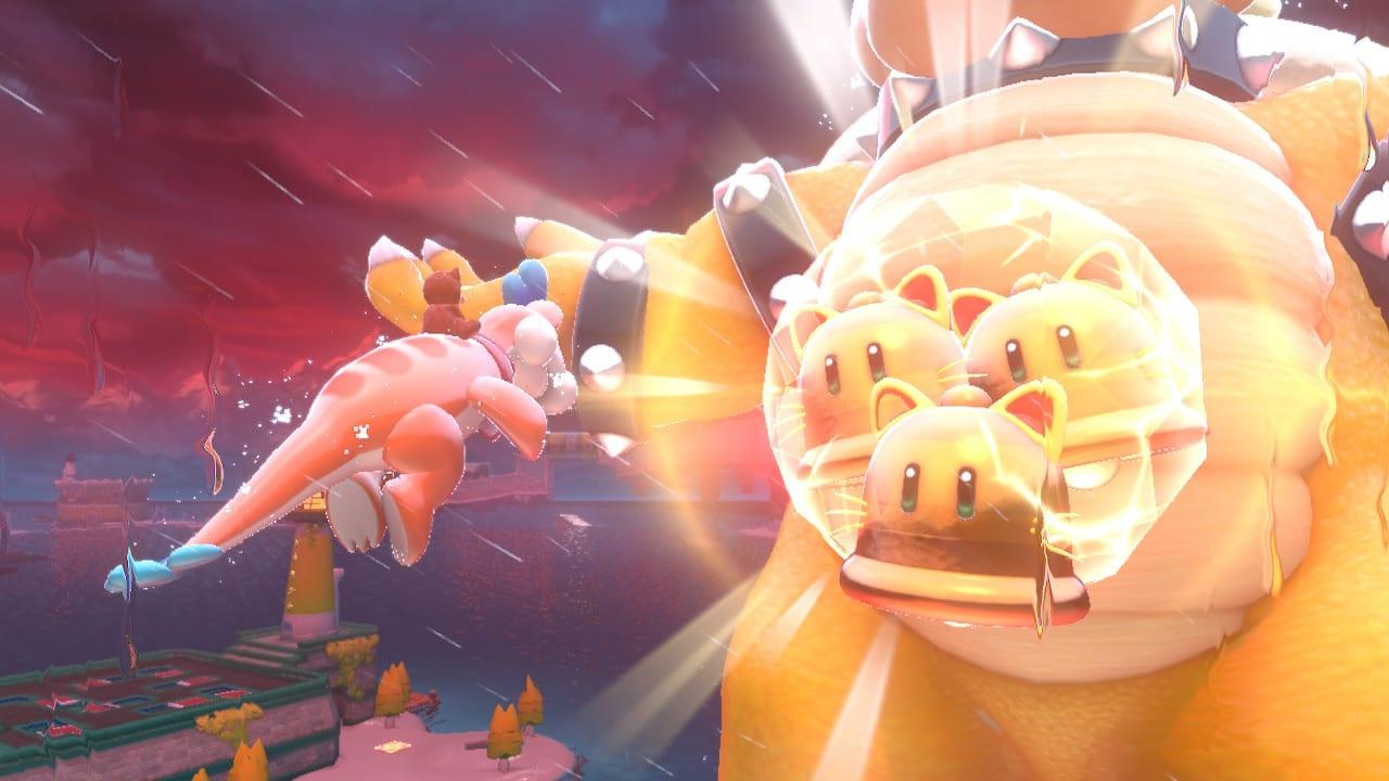 Bowsers Fury Super Mario 3D World Bowser Kampf