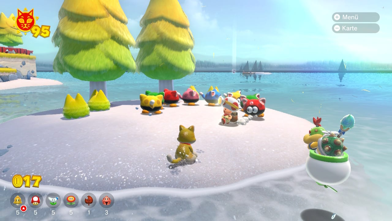 Super Mario 3D World Toad Brigade Bowser's Fury