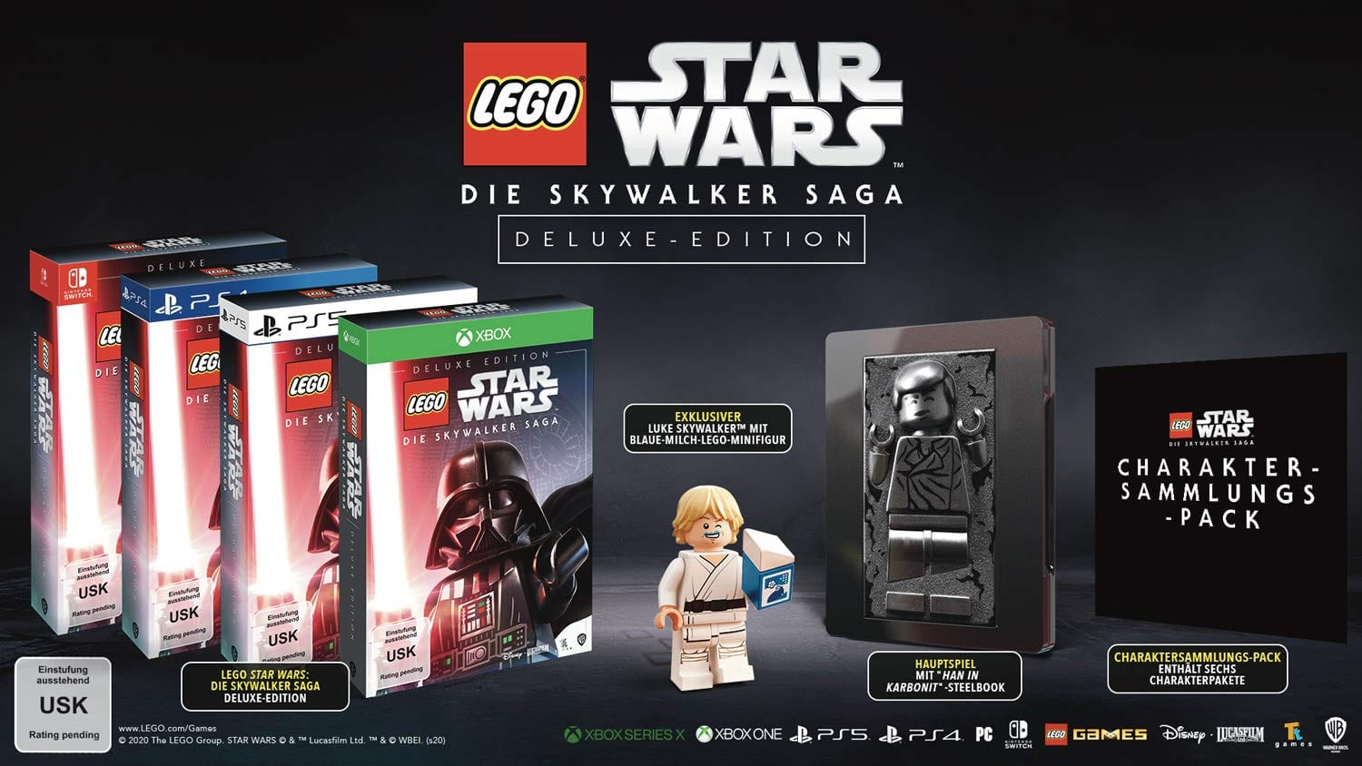 Star Wars LEGO - Die Skywalker Saga Deluxe Edition
