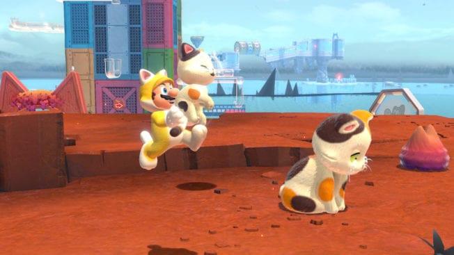 Super Mario 3D World Bowsers Fury Katzen Cats