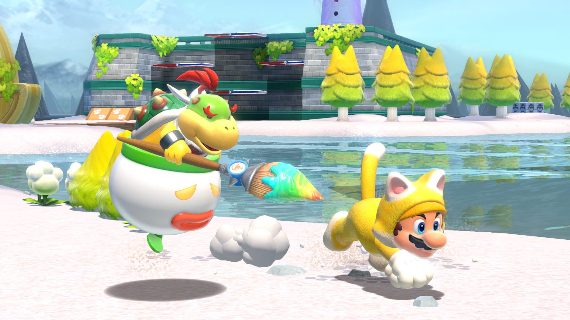 Super Mario 3D World Bowsers Fury Koop Multiplayer