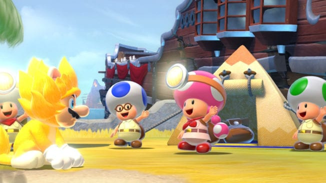 Super Mario 3D World Toad Brigade Bowsers Fury