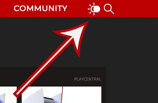 PlayCentral Dark Mode aktivieren