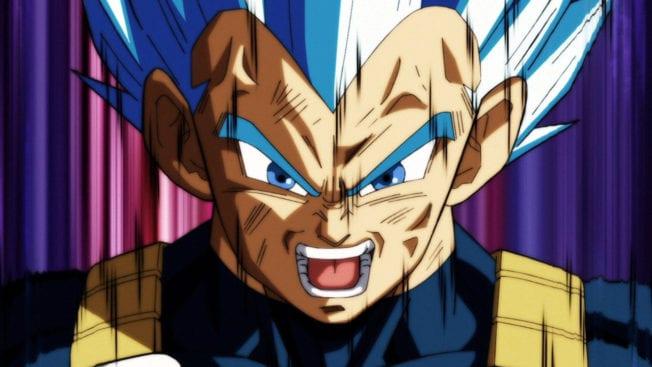 Dragon Ball Super Manga Vegeta