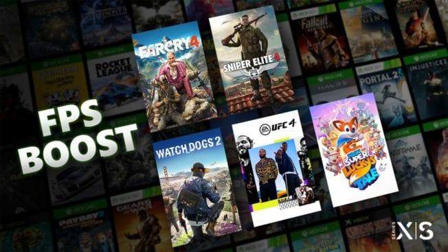 FPS Boost für Xbox Series X