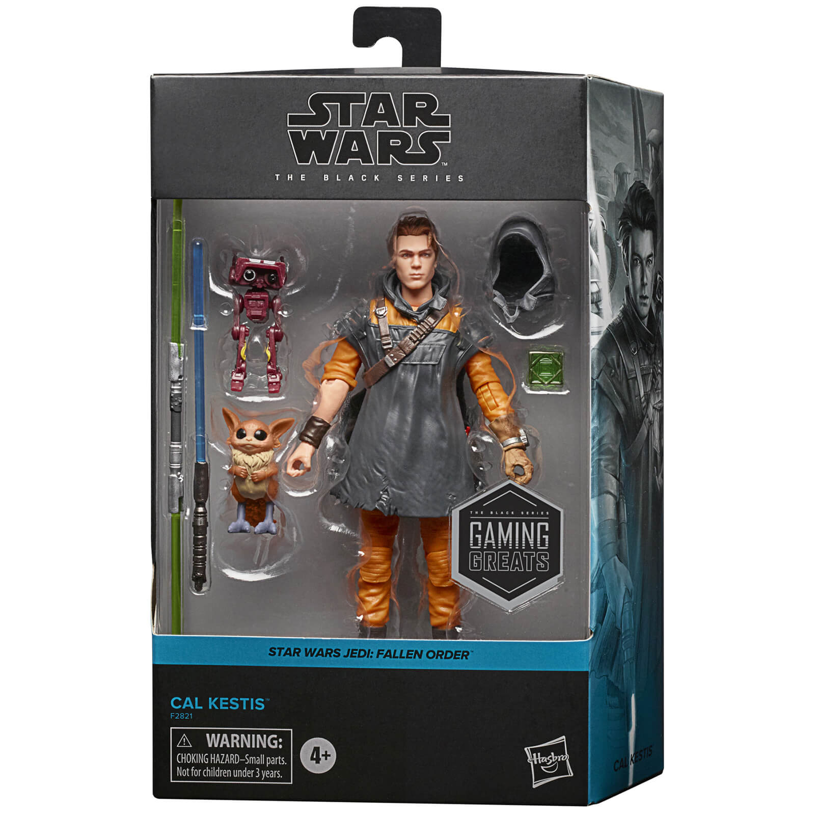 Hasbro The Black Series Cal Kestis Gaming-Greats