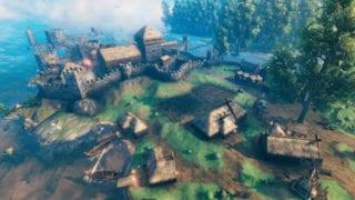 In Valheim eine Festung bauen