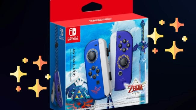 Joy-Cons - Zelda Style