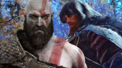 God of War Ragnarök Kratos Thor