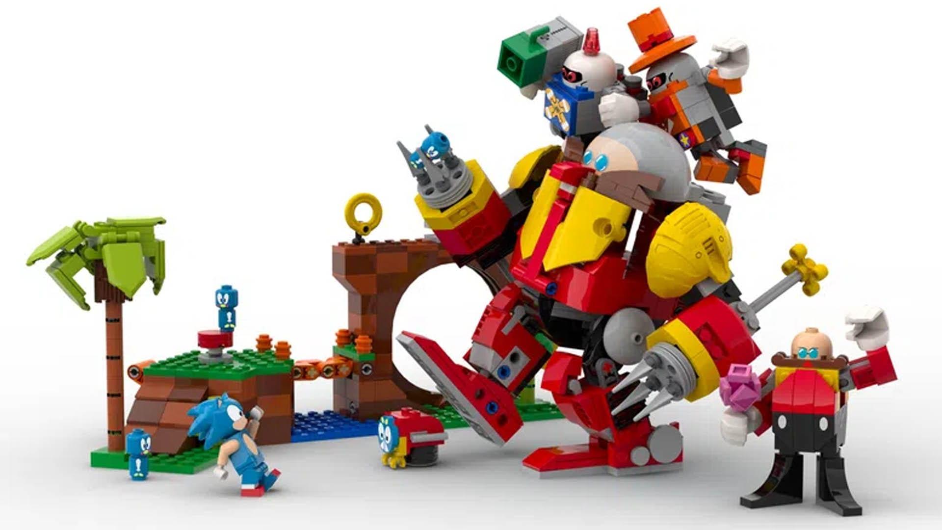 LEGO Sonic Maniac Bauset Teile