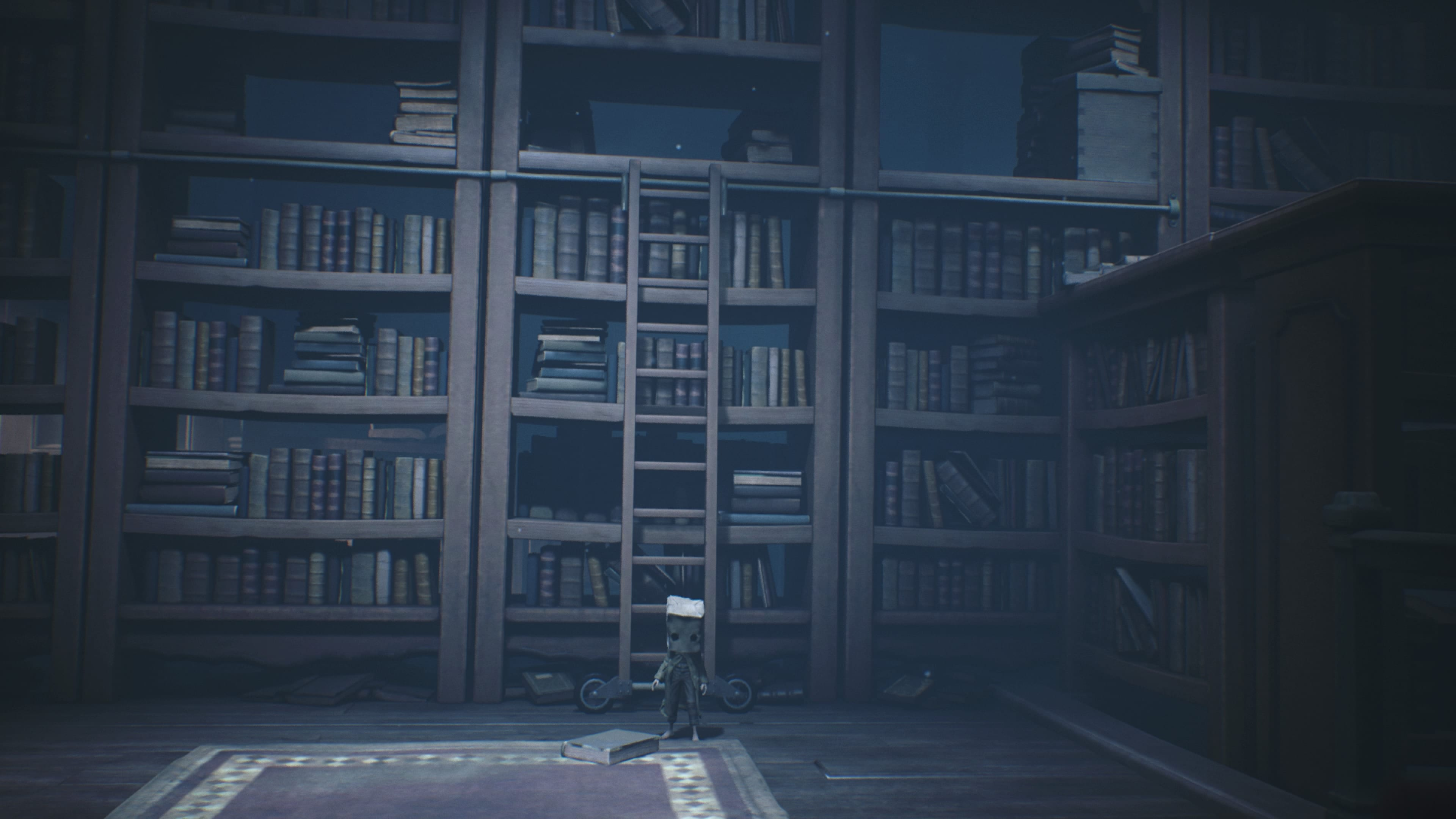 Little Nightmares 2 Hut Bibliothek Schule