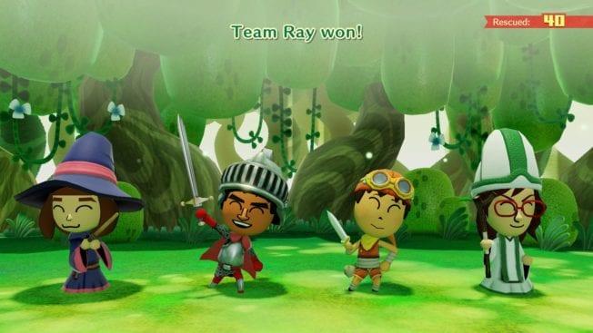 Miitopia Nintendo Switch - Kampf (Gameplay)