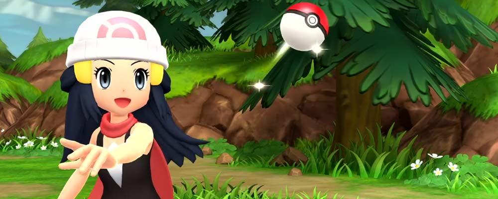 Pokémon Strahlender Diamant & Leuchtende Perle-Banner