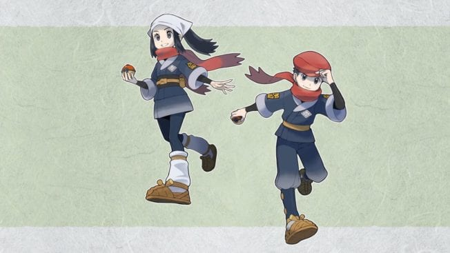 Pokémon Legends Arceus - Bilder - Wallpaper - Screenshots 1