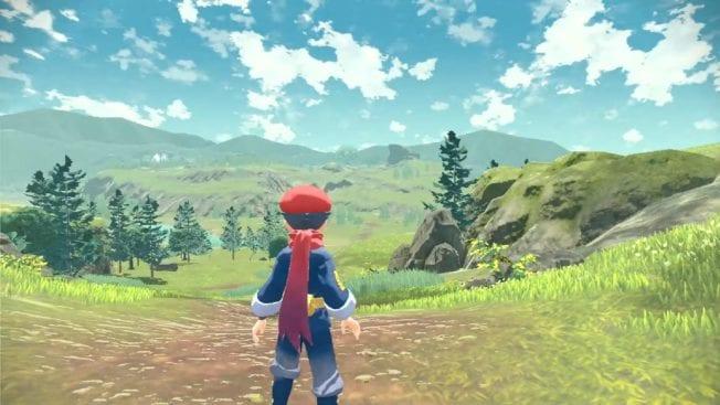 Pokémon Legends Arceus - Bilder von der Open World