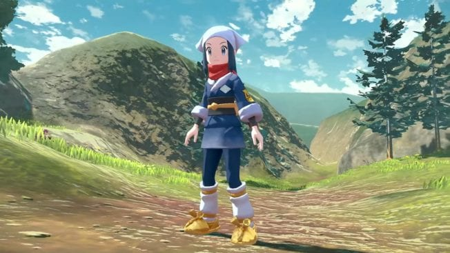 Pokémon Legends Arceus - Charakter