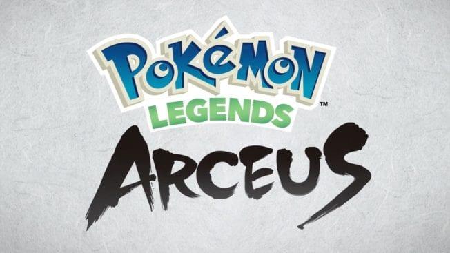 Pokémon Legends Arceus - Schriftzug