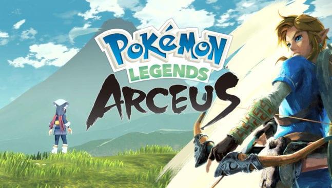 Pokémon Legends Arceus Zelda: Breath of the Wild