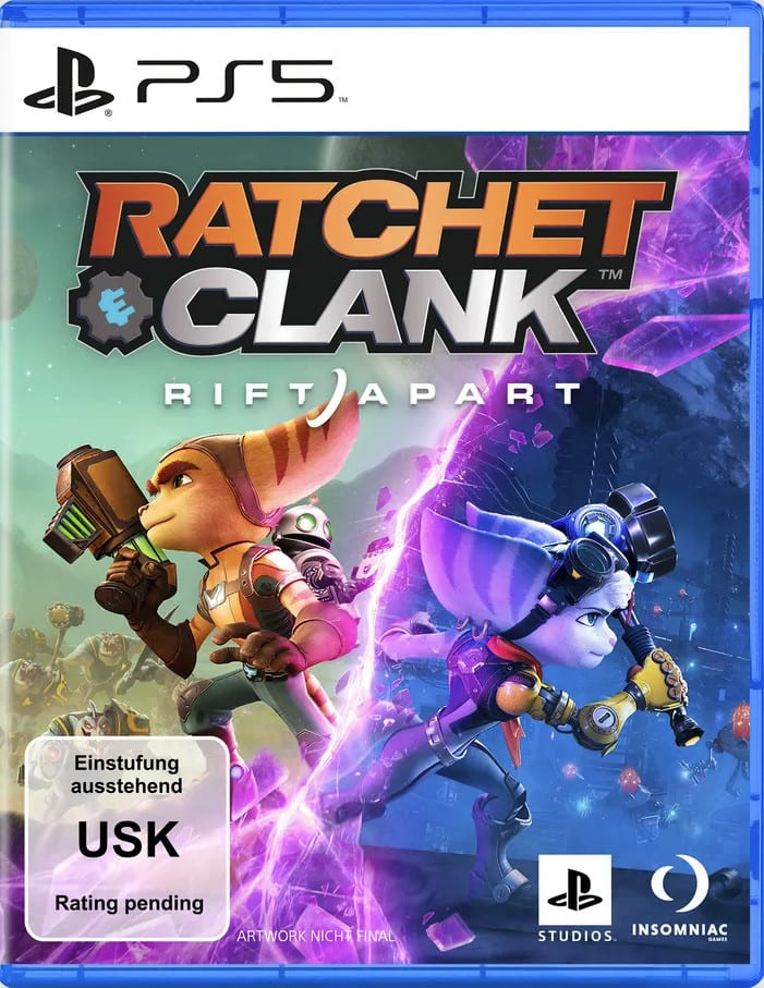 Ratchet Clank Rift Apart PS5 Cover